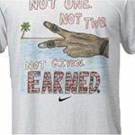 Nike Lebron James Design Contest White Men's T-Shirt XL
