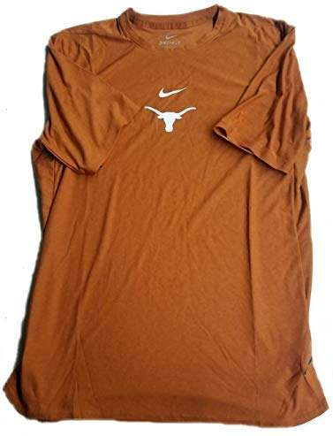 Nike Men's Dri-FIT Texas Longhorns Performance T-Shirt Size XL Burnt Orange