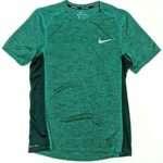 Nike Men's Dri-FIt Miler Running Top Green AA4872-370