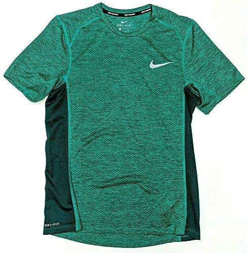 Nike Men's Dri-FIt Miler Running Top Green AA4872-370