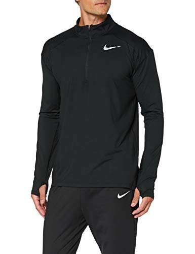 Nike Mens Dry Element 1/2 Zip Running Top (Medium, Black)
