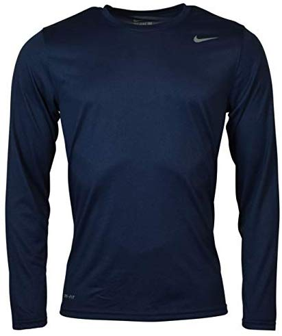 Nike Mens Longsleeve Legend - Navy - 2XL