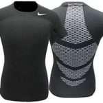 Nike Pro Short Sleeve Hypercool Shirt (Printed Back)
