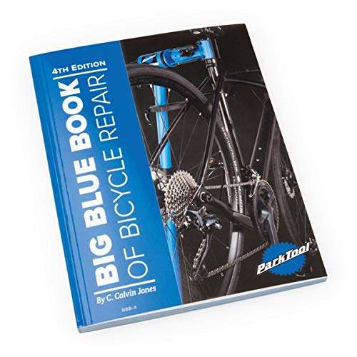Park Tool Big Blue Book of Bicycling Repair-4th Edition