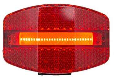 Planet Bike Grateful Red USB Bike Tail Light, Red/Black