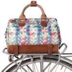 Po Campo Uptown Bike Trunk Bag | Stylish Weatherproof Bike Satchel for Rear Rack | Multiple Colors