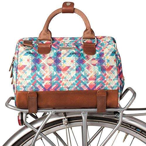 Po Campo Uptown Bike Trunk Bag | Stylish Weatherproof Bike Satchel for Rear Rack | Multiple Colors