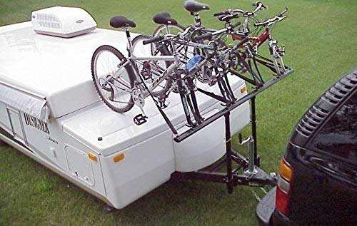 Pro Rac Systems Inc. Tent Trailer 4 - Bike Carrier