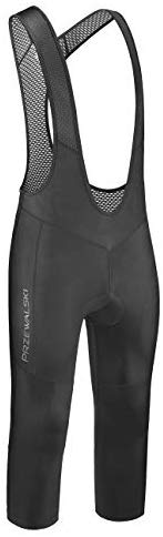 Przewalski Men's 3/4 Capris Cycling Bib Shorts, 4D Padded Compression Bike Tights Pants, Classic Series