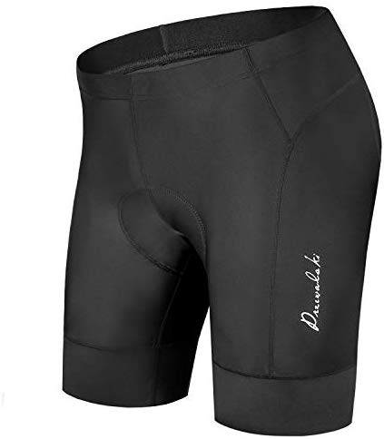 Przewalski Men's Cycling Bike Shorts 3D Padded Bicycle Riding Pants Tights, Anti-Slip Design, Breathable & Comfy