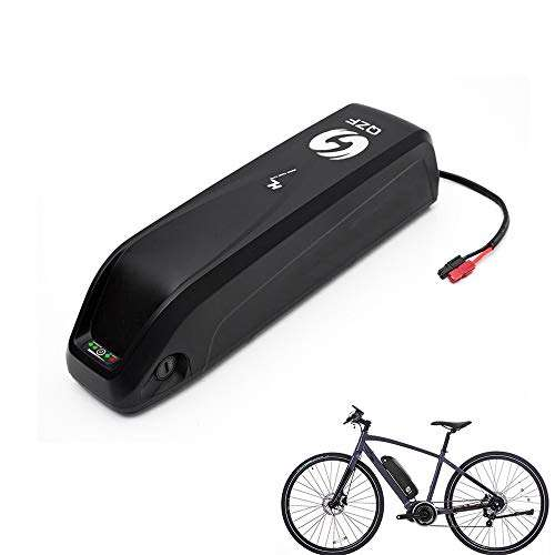 QZF Electric Bike Battery - 36V 13AH E-Bike Battery - Adult E-Bike Battery - Electric Bicycle Battery - Lithium Li-ion Battery with Charger for 500W 350W 250W Bike Motors