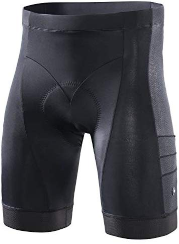 RION Men's Cycling Padded Shorts Bike Tights Bicycle Pants