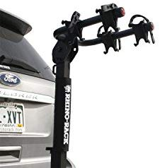 Rhino Rack Premium 2 Bike Hitch Carrier. Fits 2 inch Hitch receivers with Adjustable Cradles