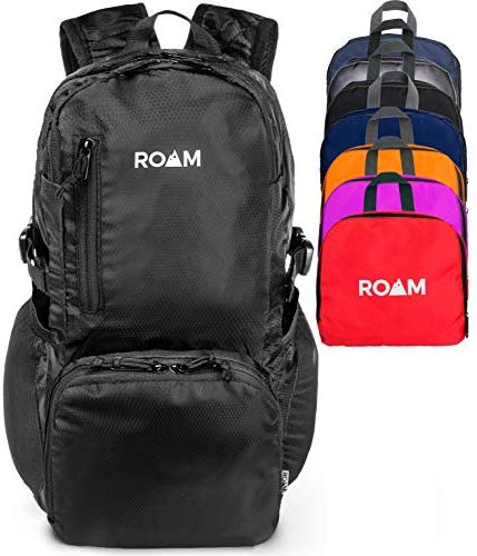 Roam 25L Hiking Daypack, Lightweight Packable Rainproof Backpack, Travel