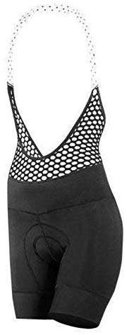 SHEBEEST Women's Pre-Dyed Petunia Padded Cycling/Biking Bib Short
