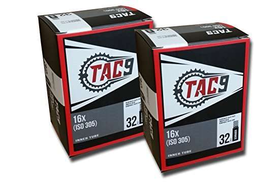 "TAC 9 16"" Bike Tubes - Select Your Size - for Strollers, Youth Bikes, recumbents and More Bicycle Inner Tubes"