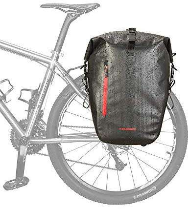 THRLEGBIRD Bicycle Pannier Bag,Waterproof Bike Bag, Bike Side Storage Bag with Adjustable Hooks for Bike Cycling Touring