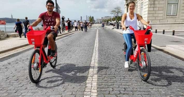 Uber Electric Bikes