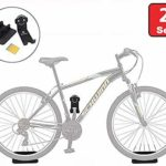 Update Bike Wall Mount Hanger, Heavy Duty Horizontal Bicycle Storage Rack Holder for Garage and Apartment