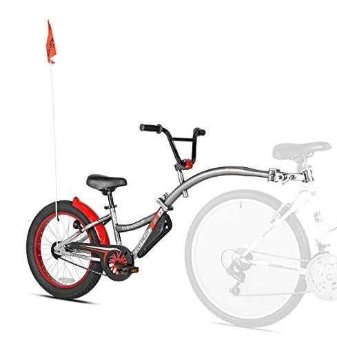 WeeRide Co-Pilot XT Deluxe Wide Tire Bike Trailer (Renewed)