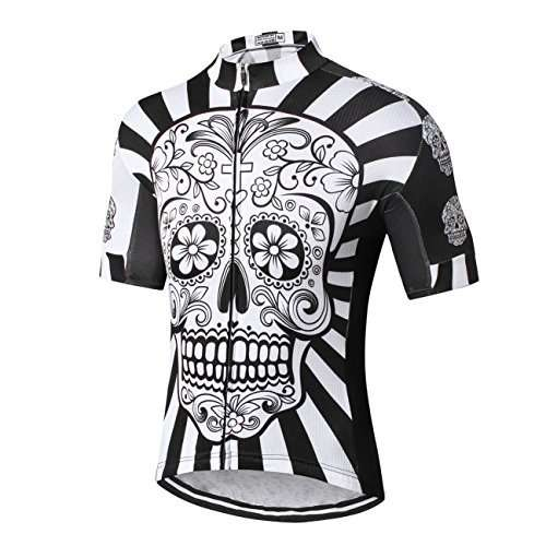 Weimostar Men's Cycling Jersey Mountain Bike Jerseys for Men Bicycle Shirt Tops Clothing