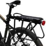 West Biking Bike Carrier Rack, 310 LB Capacity Solid Bearings Universal Adjustable Bicycle Luggage Cargo Rack,Cycling Equipment Stand Footstock