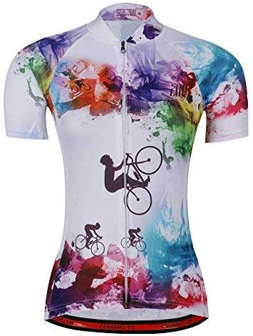 Women's Cycling Jersey Beautiful Bike Bicycle Clothing Shirt Jacket Summer