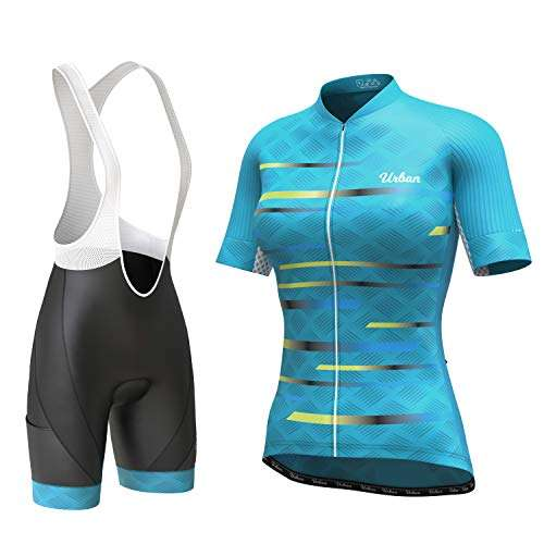 Women's Pro Series Cycling Short Sleeve Jersey, Cargo Bib Shorts, or Kit Bundle