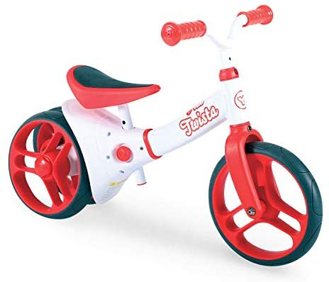 Yvolution Y Velo Twista Baby Balance Bike | Walking Bicycle with Adjustable Wheels and Seat | 18+ months