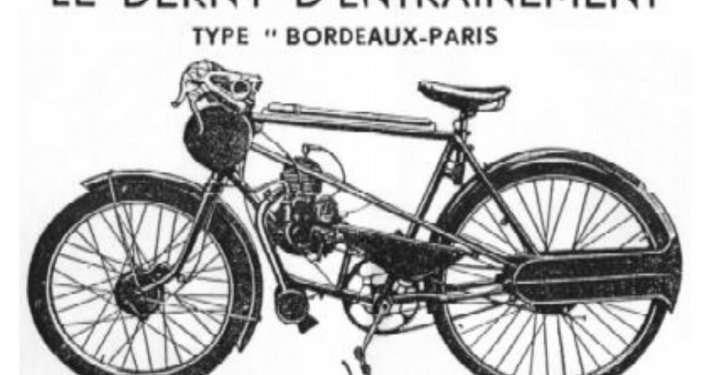 Le Derny Entrainement Vélo Bordeaux
