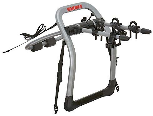 yakima - Halfback Trunk Bike Strap Rack, 2 Bike Capacity