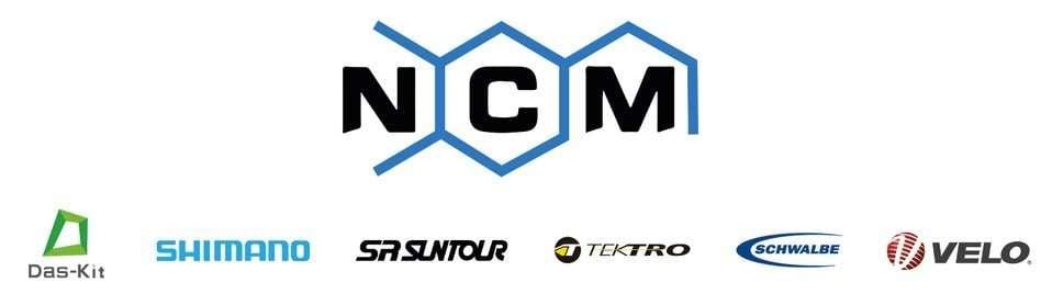 NCM bikes, Shimano etc