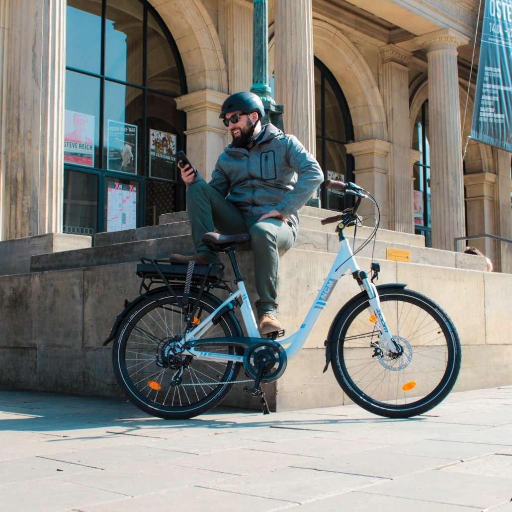 NCM Munich Electric Bike lifesyle