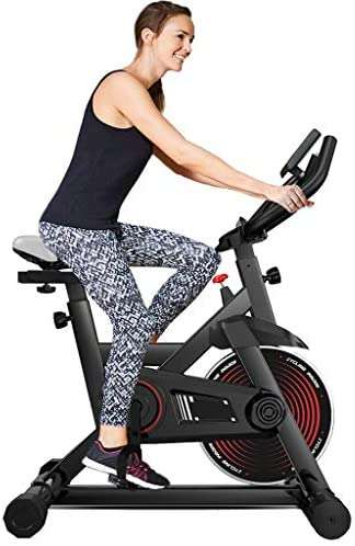 Indoor Cycling Bike Professional Exercise Cycle Bike Sport Bike With LCD Digital Monitor Phone Holder